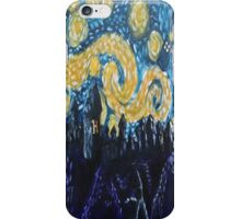 Dr Who Hogwarts Starry Night iPhone Case/Skin