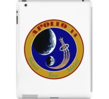 Apollo 14 Mission Logo iPad Case/Skin