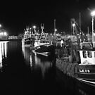peerie fleet at 7 pm by NordicBlackbird