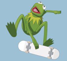 Skate Frog Baby Tee