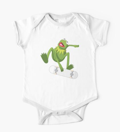 Skate Frog One Piece - Short Sleeve