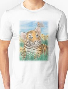 Tiger And Butterfly T-Shirt