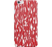 Shattering Red iPhone Case/Skin