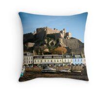 Gorey Harbour Jersey Throw Pillow