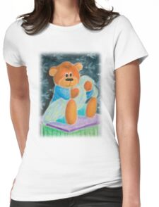 Baby Toy Bear Womens Fitted T-Shirt
