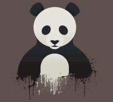 Panda Graffiti Kids Clothes