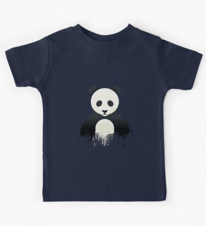 Panda Graffiti Kids Tee
