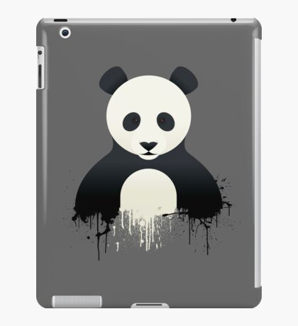 Panda Graffiti iPad Case/Skin