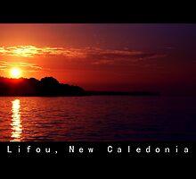 Lifou island at Twilight by Fawkes