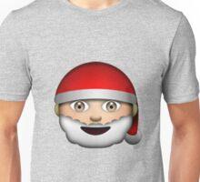 Santa Emoji Unisex T-Shirt