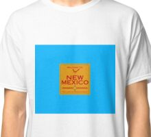 Breaking Bad Welcome to New Mexico Road Sign Classic T-Shirt