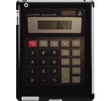 007 Calculator iPad Case/Skin