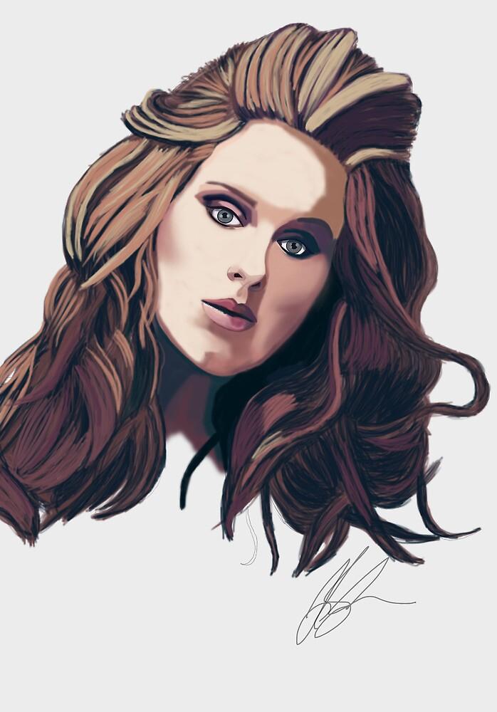 Adele by JillySB