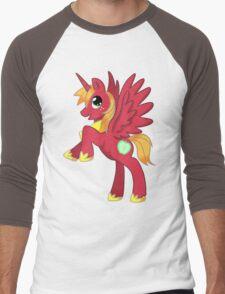 Big Macintosh Alicorn MLP Men's Baseball ¾ T-Shirt