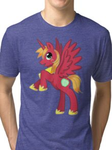 Big Macintosh Alicorn MLP Tri-blend T-Shirt