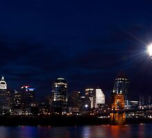 Cincinnati Skyline 3 by Phil Campus
