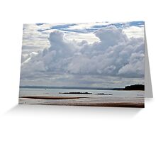Clouds over Fraser Island Greeting Card