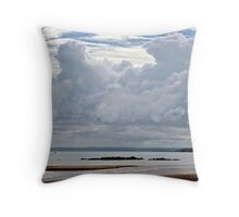 Clouds over Fraser Island Throw Pillow
