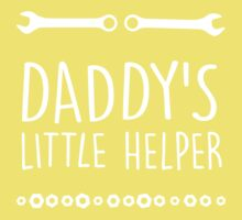 Daddy's little helper Kids Tee
