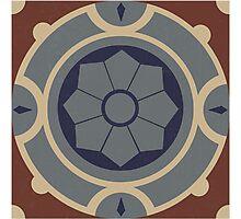 Traditional Maltese Tiles Photographic Print