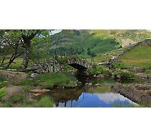 Slater's Bridge Little Langdale Cumbria Photographic Print