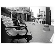 Benches Poster