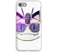 Galactic meowth iPhone Case/Skin