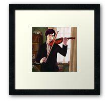 Sherlock: Violin Framed Print