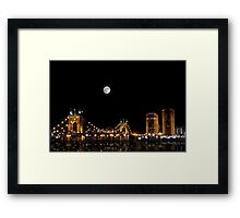 Kentucky Skyline Framed Print
