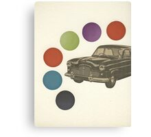 Driving Around in Circles Canvas Print