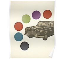 Driving Around in Circles Poster