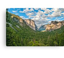 ****** VALLEY VIEW ****** Canvas Print