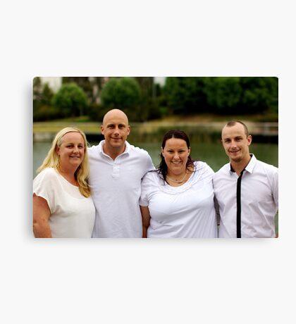 Craven Family 1 Canvas Print