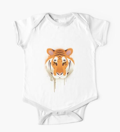 Tiger Graffiti One Piece - Short Sleeve