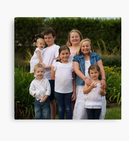 Craven Family 2 Canvas Print
