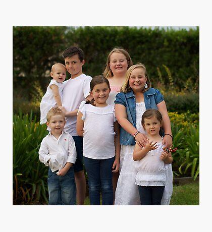 Craven Family 2 Photographic Print