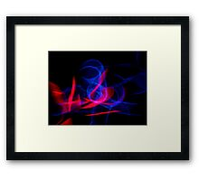©NLE Red Blue I Framed Print