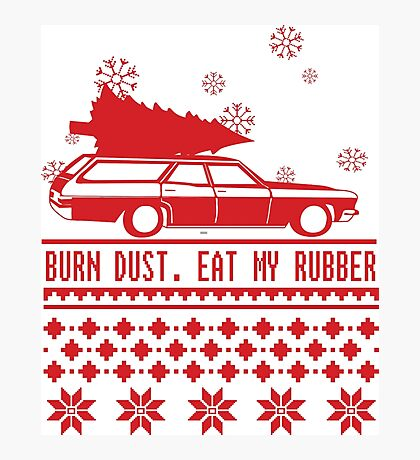 Burn dust. Eat my rubber. Photographic Print
