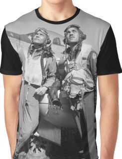 Tuskegee Airmen -- World War Two Graphic T-Shirt