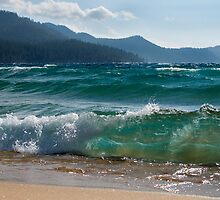 Raging Waters at Lake Tahoe by Dianne Phelps