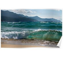 Raging Waters at Lake Tahoe Poster