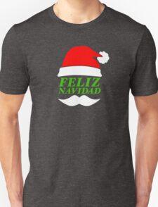 Feliz Navidad Santa Unisex T-Shirt