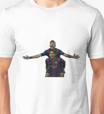 alves and neymar Unisex T-Shirt