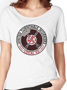 United Turntable Workers - Local 45 Women's Relaxed Fit T-Shirt
