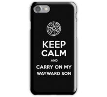 Keep Calm - Devil's Trap iPhone Case/Skin