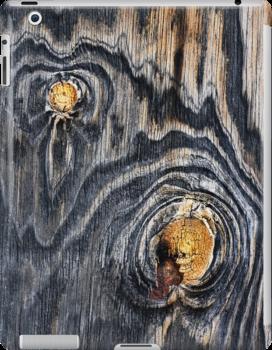 iPad Case.  Wood knots .2 by Alex Preiss