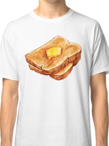 Buttered Toast Pattern Classic T-Shirt