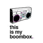this is my boombox - iDevice Cover by calzo