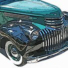 Classic Chevrolet Pickup 2 by Samuel Sheats