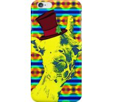 Raffes christmas punch iPhone Case/Skin